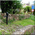 ST7859 : Old water pump, Freshford by Jaggery