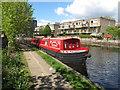 TQ2581 : Humbug - narrowboat on Paddington Arm, Grand Union Canal by David Hawgood