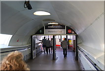 TQ3179 : Waterloo East Station entrance by N Chadwick