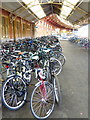 ST5972 : Cycle racks at Temple Meads Station by Rod Allday