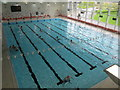 TL2008 : Swimming Pool, Hertfordshire Sports Village by David Hawgood