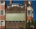 TQ2981 : Ghost sign in mosaic, Marylebone by Julian Osley