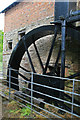 SO5864 : Birchley Watermill - waterwheel by Chris Allen