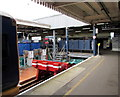 SU6200 : End of the line at Portsmouth Harbour railway station by Jaggery