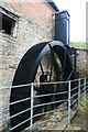 SO5864 : Birchley Mill - waterwheel by Chris Allen