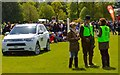 ST8083 : Badminton Horse Trials 2015: fence judges by Jonathan Hutchins