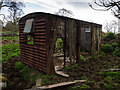 NX5756 : Railway wagon shed by David Baird