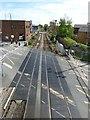 SU8504 : Level Crossing, Southgate / Stockbridge Rd by Rob Farrow