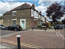 TQ3191 : Cross Road, Bowes Park, London N22 by Christine Matthews