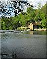 NZ2742 : Durham: weir and former corn mill by John Sutton