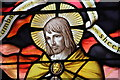 SK9892 : Detail, East window, St Peter's church, Bishop Norton by J. Hannan-Briggs
