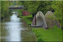 SP4678 : Two bridges along the Oxford Canal by Mat Fascione