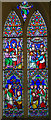 SK9982 : Stained glass window, St Michael's church, Hackthorn by Julian P Guffogg