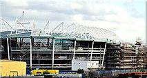 J3272 : New stands, Windsor Park, Belfast - May 2015(3) by Albert Bridge