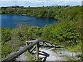 SP4976 : View point at the Newbold Quarry Park by Mat Fascione