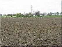 NS9864 : Newly ploughed pasture by M J Richardson