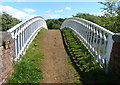 SP5077 : Footbridge along the Oxford Canal by Mat Fascione