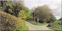 SH9434 : Road junction north of Rhos-y-Gwaliau by John Firth