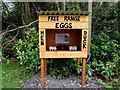 H5067 : Free range eggs for sale, Donaghanie by Kenneth  Allen