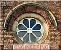 SJ9394 : Victoria Works: Rose Window by Gerald England