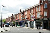 SJ7996 : Third Avenue shops, Trafford Village by Alan Murray-Rust