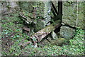 SO3551 : Newchurch Mill - ruins by Chris Allen