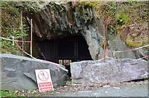 NY3204 : Quarry tunnel, Elterwater by Jim Barton