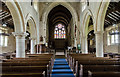 SK8810 : Interior, Holy Cross church, Burley by Julian P Guffogg