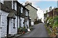 NY3205 : Cottages at Chapel Stile by Jim Barton