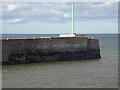 NU2705 : Navigation beacon at Amble by Oliver Dixon