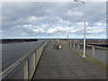 NU2705 : The entrance to Warkworth Harbour, Amble by Oliver Dixon