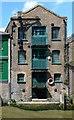 TQ3680 : Former warehouse, Dunbar Wharf, Limekiln Dock, London E14 by Jim Osley