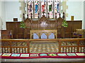 SD3097 : St Andrew, Coniston: altar by Basher Eyre