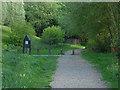 TQ0161 : Footpath, Mclaren Park by Alan Hunt