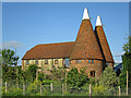 TQ8018 : Brook Lodge Farm Oast, Brede Lane, Brede by Oast House Archive