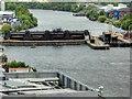 SJ7997 : Manchester Ship Canal, Mode Wheel Locks by David Dixon