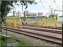 TQ2181 : North Pole Depot, Old Oak Common sidings by David Hawgood