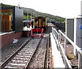SO1709 : First ever scheduled arrival at Ebbw Vale Town station by Jaggery