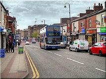 SJ9499 : Stagecoach Bus on Penny Meadow by David Dixon