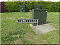TM1179 : Croft Lane sign by Adrian Cable