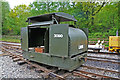SJ8248 : Apedale Valley Light Railway - protected Simplex by Chris Allen