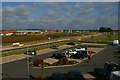 SP5721 : View north-west out of the Premier Inn, Oxford Road, Bicester by Christopher Hilton