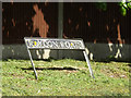 TM1180 : Roydon Road sign by Adrian Cable