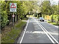 SU9655 : Bagshot Road (A322) near Maryland Wood by David Dixon