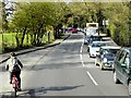 SU9557 : Queuing Traffic on Bagshot Road at Brookwood by David Dixon