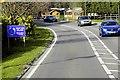 SU9460 : West End Village, Guildford Road by David Dixon