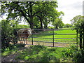 SJ4743 : Bullock and Gate at Brunett by Jeff Buck