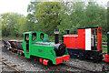 SJ8248 : Apedale Valley light Railway - Merlin by Chris Allen
