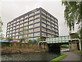 SE2933 : Whitehall Road canal bridge, Leeds by Stephen Craven