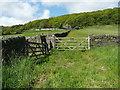 SE0226 : Stile on Hebden Royd FP34, Mytholmroyd by Humphrey Bolton